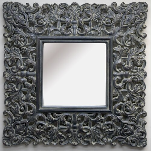 The Otter Square Framed Mirror