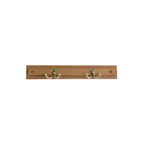 Teak Robe Hook / Coat Rack