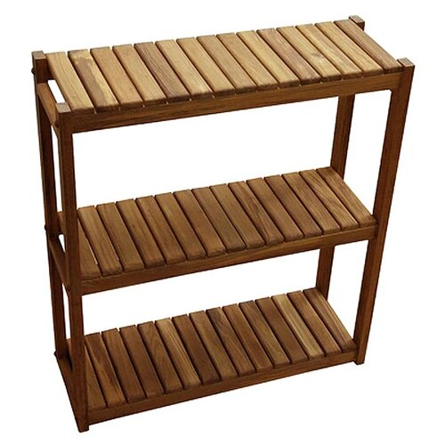 "Teakworks4u 24"" x 27"" Bathroom Shelf"