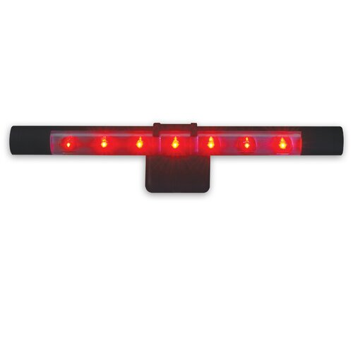 Energetic Lighting Flare LED Wall Sconce with Batteries