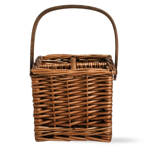 Natural Home 4-Part Willow Basket Caddy