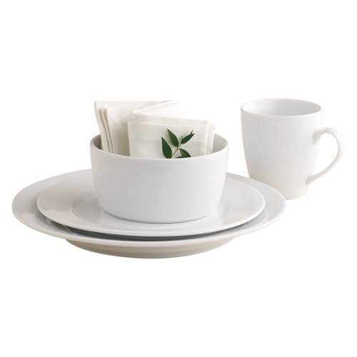 Whiteware 16 Piece Dinnerware Set