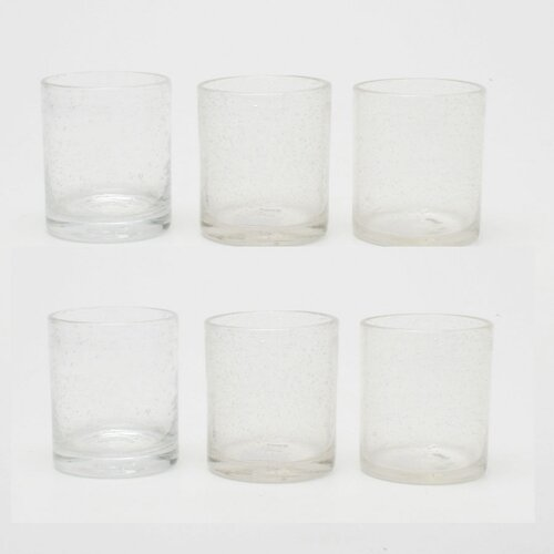 Bubble Double Old Fashioned Glass (Set of 6)