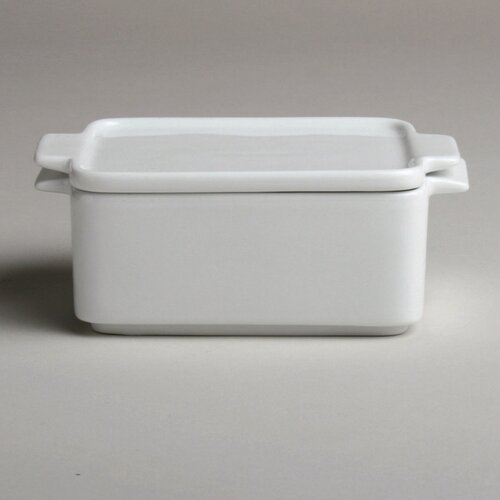 Whiteware Baker with Lid