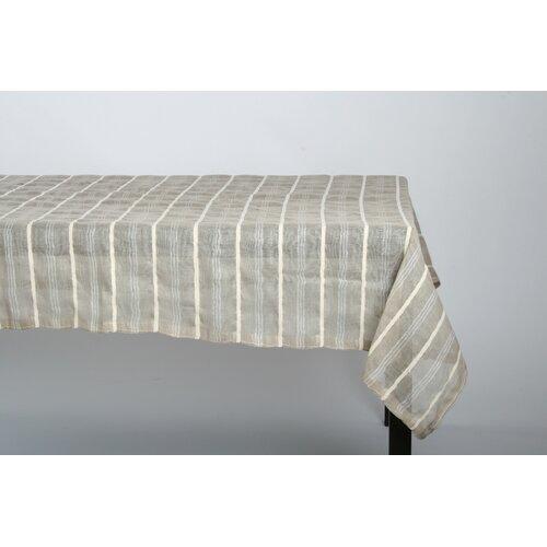 Linen Chenille Stripe Table Cloth