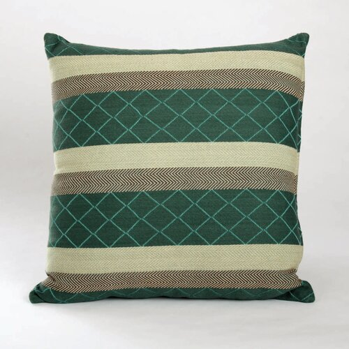 Autumn Henderson Jacquard Cotton Pillow