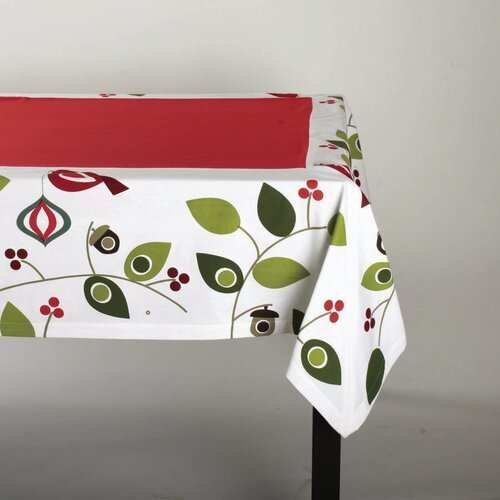 Birds and Berries Tablecloth