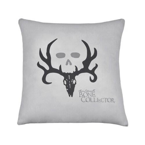 Bone Collector Cotton / Polyester Square Pillow