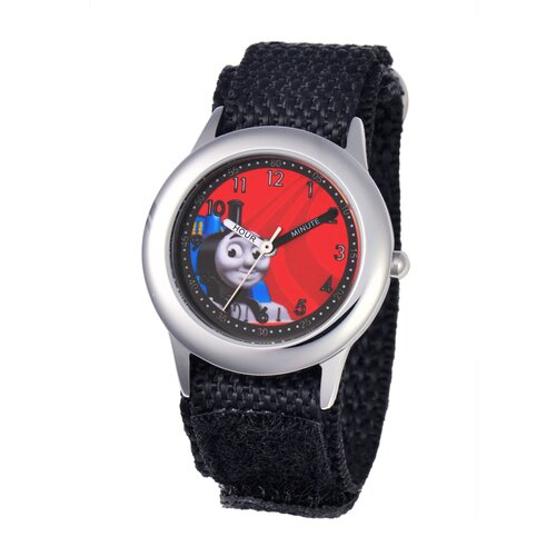 Thomas and Friends Kid's Stainless Steel Time Teacher Watch