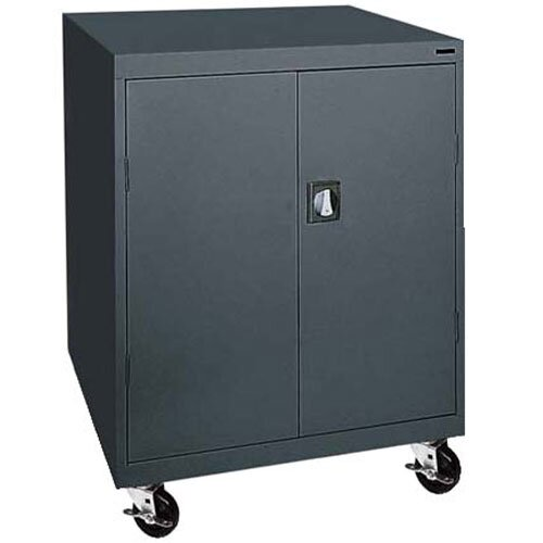 "Sandusky Cabinets Transport 18"" Single Shelf Work Height Storage Cabinet"