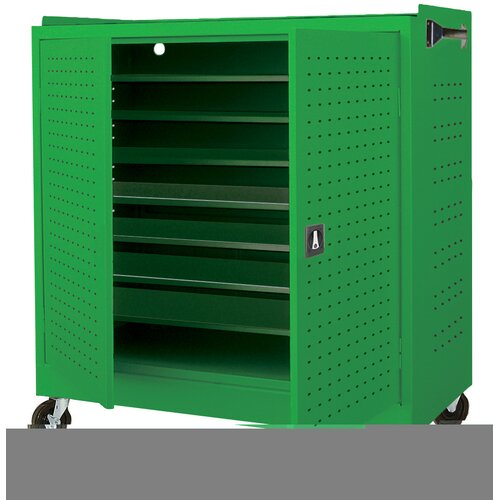 Sandusky Cabinets 16-Compartment Mobile Laptop Security Cabinet