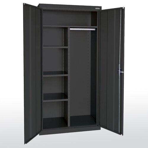 "Sandusky Cabinets Elite Series 46"" Large Capacity Combination Wardrobe Cabinet"