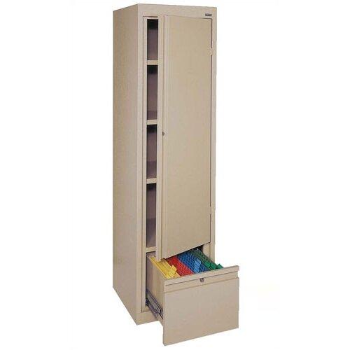"Sandusky Cabinets Systems Series 17"" Single Door Storage Cabinet"