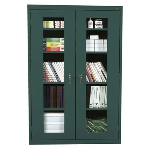 """Sandusky Cabinets Clear View 36"""" Storage Cabinet"""