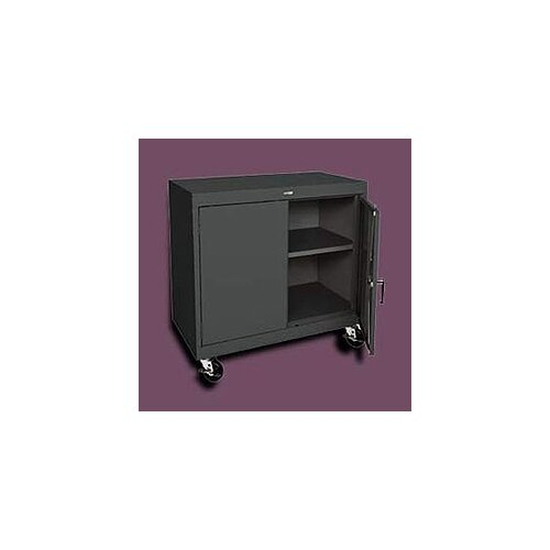 "Sandusky Cabinets Transport 46"" Two-Door Work Height Storage Cabinet"