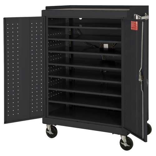 Sandusky Cabinets 16-Compartment Mobile Laptop Security Cabinet