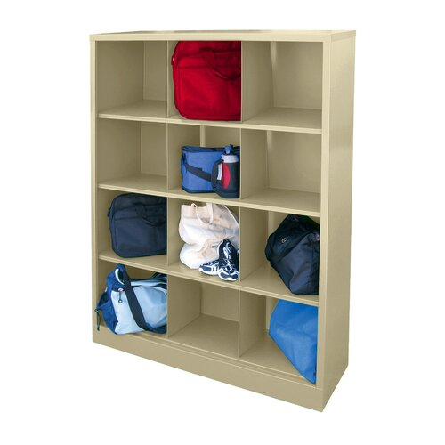 Sandusky Cabinets Storage Organizer 12 Compartment Cubby