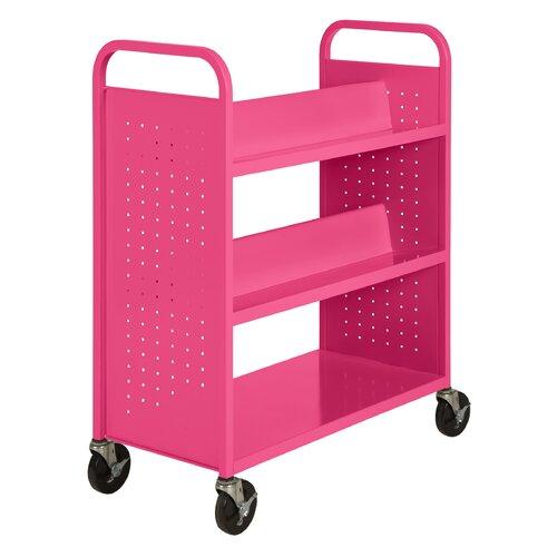 Sandusky Cabinets Combination Shelf Mobile Booktruck