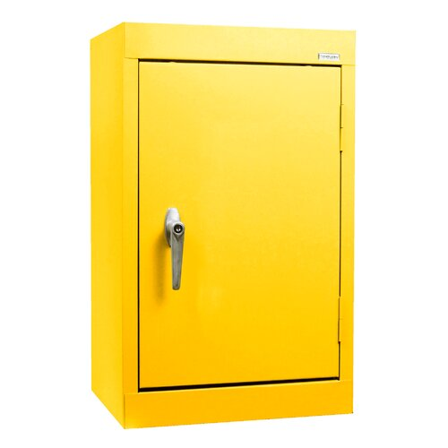 "Sandusky Cabinets 18"" Solid Door Wall Cabinet"