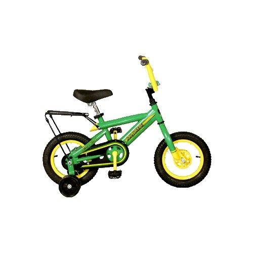 """John Deere 12"""" Heavy-Duty Bike with Training Wheels"""