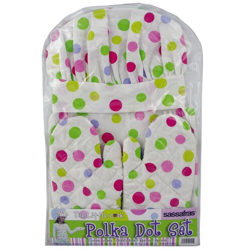 Sassafras The Little Cook Apron Set
