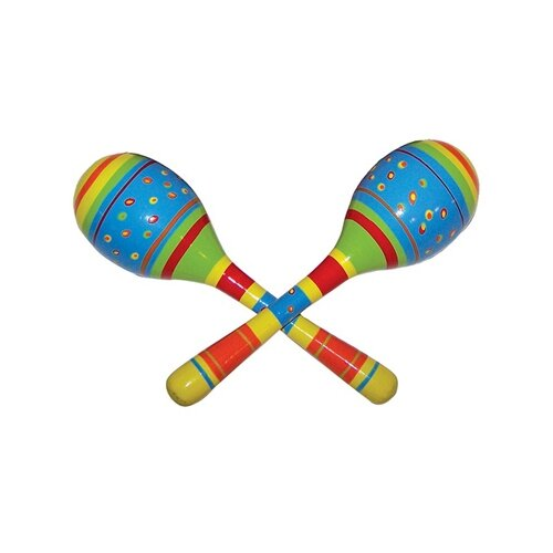 Sassafras Kid's Striped Maracas