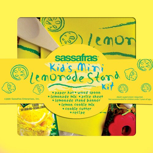 Sassafras Mini Lemonade Stand Kit