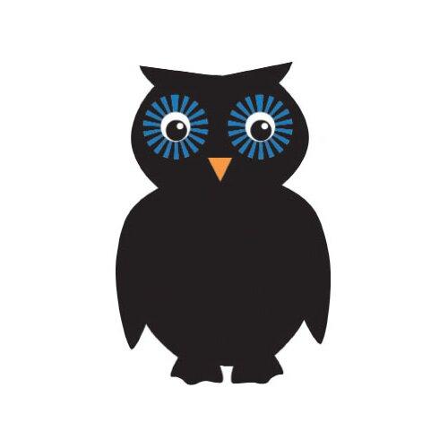 Sassafras Chalk It Up Owl 1.67' x 1.15' Chalkboard