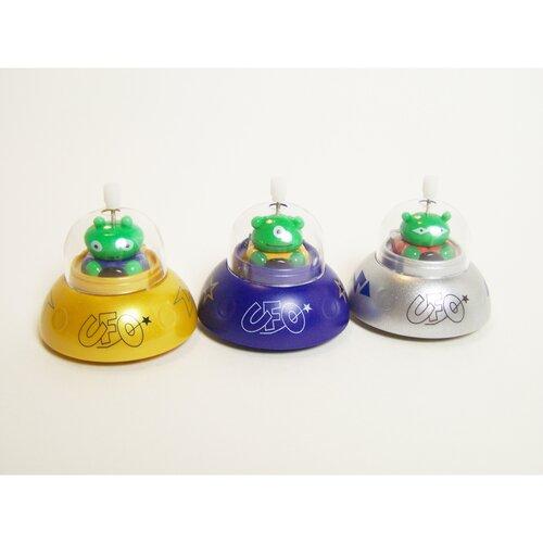 Clip-Itty-Doo-Dahs Wind Up UFO Display (Set of 24)