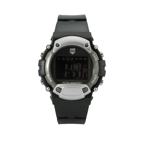 Digital Watch in Matte Black