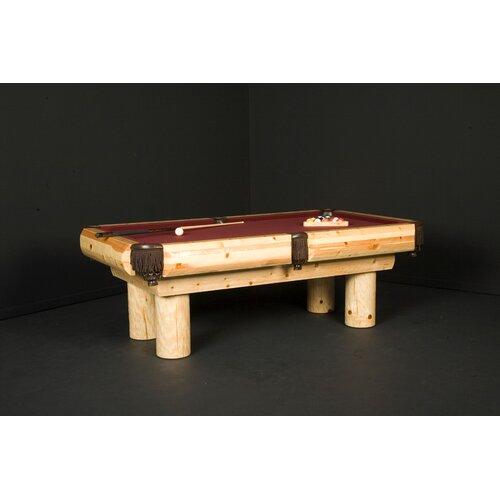 Pine Ponderosa 8' Pool Table