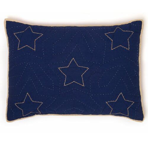 Whistle and Wink Classic Stars and Stripes Standard Sham