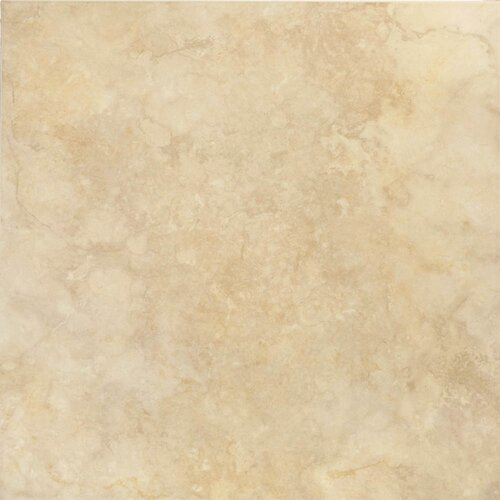 """Epoch Architectural Surfaces 12"""" x 12"""" Ceramic Field Tile in Ivory"""
