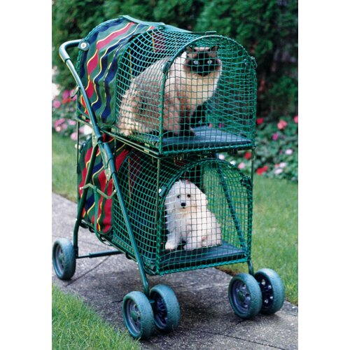 Kittywalk Systems Double Decker Standard Pet Stroller