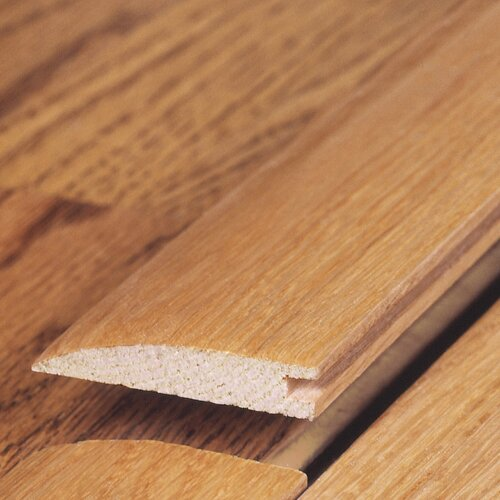 "Moldings Online 0.34"" x 1.5"" Solid Hardwood Red Oak Reducer in Unfinished"