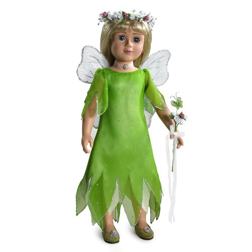 "Carpatina Fairy Dream Outfit for 18"" Slim Dolls"