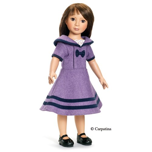 "Carpatina Private School Dress for 18"" Slim Dolls"
