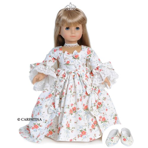 American Girl Dolls Marie Antoinette Dress and Shoes