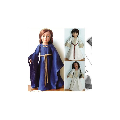 Carpatina Clothes Pattern Doll Medieval Dress