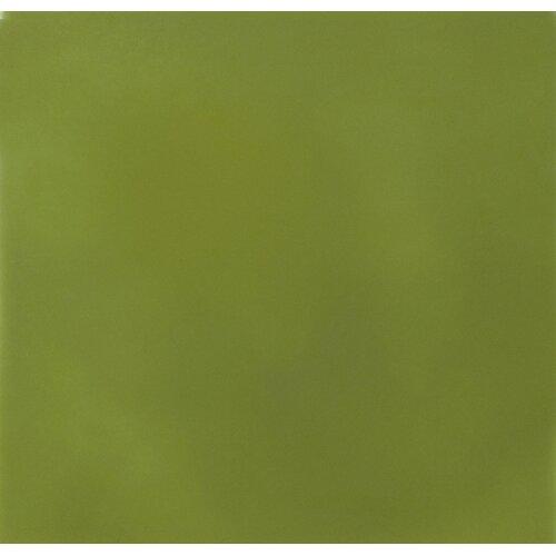 "Solistone Hand-Painted Ceramic 6"" x 6"" Glazed Single Bullnose Tile Trim in Nopal"