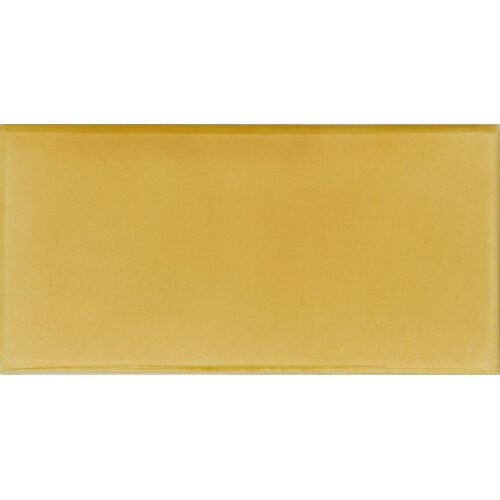 """Solistone Hand-Painted Ceramic 6"""" x 3"""" Glazed Two Side Bullnose - Right Tile Trim in Sol"""