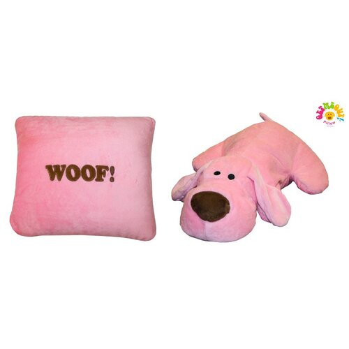 Micro World Happy Dog Woof Pillow
