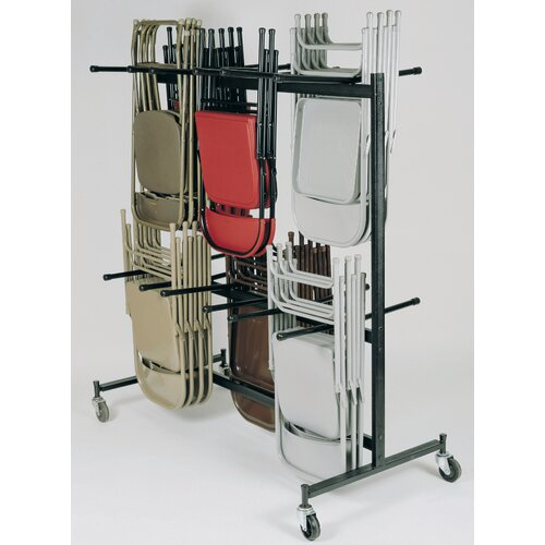 National Public Seating Double-Tier Hanging Chair Dolly