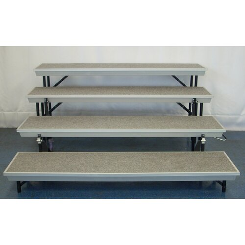 National Public Seating 4th Level Add On for TransPort Riser