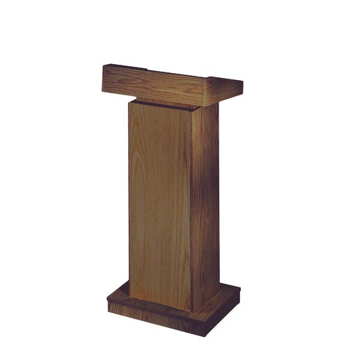 Oklahoma Sound Corporation Orator Height Adjusting Full Podium