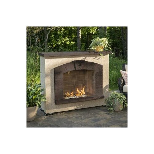 Stonearch Fireplace Surround with Crystal Fire Burner