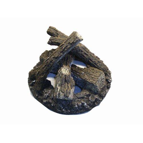Crystal Fire Pit Burners Set