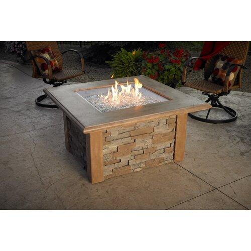 Sierra Firepit Table with Square Burner