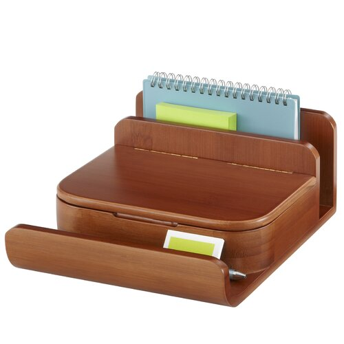 Safco Products Company Bamboo Small Organizer