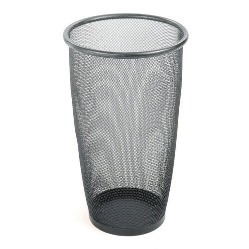 Safco Products Company Onyx 9-Gal. Round Mesh Wastebasket
